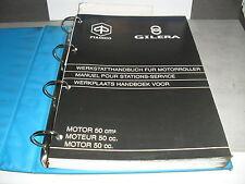 PIAGGIO VESPA MOTOR 2takt 50ccm Automatik Werkstatthandbuch Reparaturanleitung