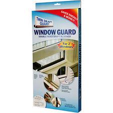 Twin Draft Window Guard Double sided draft blocker #60240 NEW
