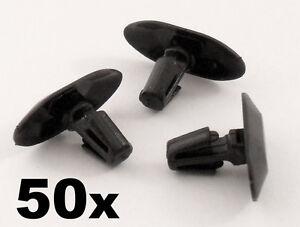 50x Peugeot Plastic Weatherstrip clips- For rubber door seals, door gasket clips