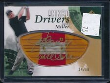 2013 Upper Deck SP Johnny Miller Inked Drivers Auto 4/10