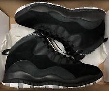 2012 Jordan Retro X 10 Black Stealth White Steel OVO 310805-003 Sz 9.5