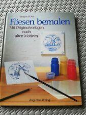 Buch Fliesen Bemalen DIY Handarbeit Handmade Buch Technik Lernen