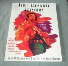 Book/Vintage  Jimi Hendrix Sessions  S/Cover 1995 196Pages New/NrMint