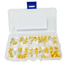 Wingoneer 10values 16v 1uf100uf Tantalum Capacitor Assorted Kit With Plastic