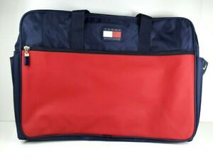Tommy Hilfiger Carry on travel bag double compartments and side pockets