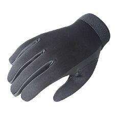 New! Voodoo Tactical Neoprene Police Search Gloves, Black, (Model# 01-663501094)