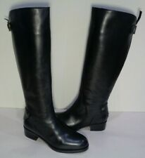 Joan & David Size 6 M REILLY Black Leather Knee High Boots New Womens Shoes