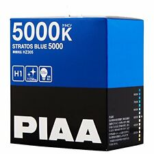 PIAA 5000K STRATOS BLUE 5000 H1 Headlight halogen Fog Light Bulbs HZ305 JapanFS