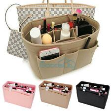 Multi Pocket Felt Bag Organizer Insert Purse Organizer For LV Neverfull 4 Colors