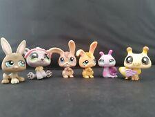 LITTLEST PET SHOP  ♡ Bunny Rabbit Snail Bee Insect Animal Bundle  ♡  LPS ♡ Pink