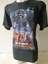 STAR WARS 'ANGRY BIRDS' BLACK T-SHIRT (SIZE XL) BRAND NEW