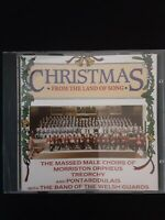 Christmas From The Land Of Song Welsh Choirs & Guards CD Album 1991