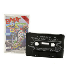 BMX Simulator Game Cassette For Commodore 64 /128 - Codemasters 1986