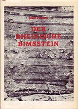 Der Rheinische Bimsstein 34 Abbildungen, 1 Karte Rheinische Bimssteindecke Tuffe