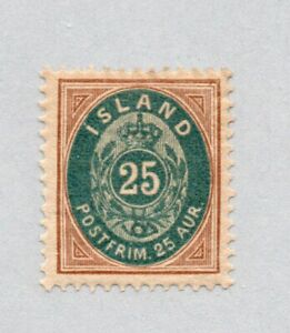 Iceland - Sc# 29 MLH / Perf 13    -     Lot 0621106