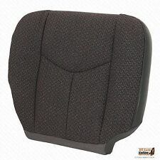 2005 2006 Chevy Silverado 1500 2500 3500 Passenger Bottom Cloth Seat Cover Gray