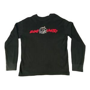 Ecko Unlimited Shirt Thermal Long Sleeve Top Black Rhino Logo Casual Mens XL