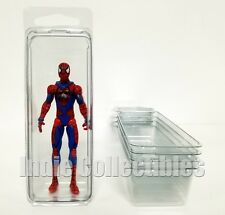 MARVEL DC UNIVERSE BLISTER CASE LOT 5 Action Figure Protective Clamshell SMALL