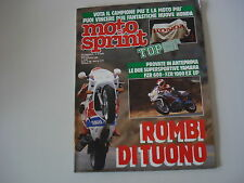 MOTOSPRINT 45/1988 BENELLI 125 JARNO/YAMAHA FZR 1000/600/BETA TR 34 CAMPIONATO
