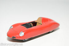 SOLIDO FIAT ABARTH RECORD RACING CAR RED EXCELLENT CONDITION REPAINT
