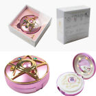 Sailor Moon Crystal Star Compact Power Bank Wireless Charger Cosmetic Mirror Gif