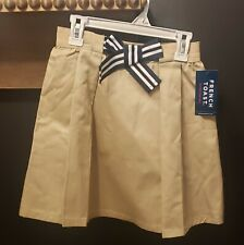 French Toast Girls Uniform Skirt/Scooter w/hidden Comfort Shorts. Size 10. Nwt