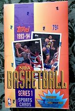 1993-94 TOPPS BASKETBALL SERIES 1 Factory Sealed  (36 Packs. 12 Cards Per Pack)