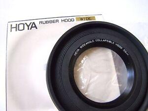 Hoya 55mm Wide Angle Folding Rubber Lens Hood Sun Shade 55 mm Japan Made HQ