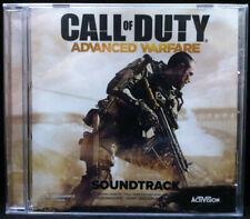 CALL OF DUTY ADVANCED WARFARE Promo Soundtrack CD AUDIOMACHINE New Still Sealed