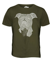 STAFFORDSHIRE BULL TERRIER SKETCH MENS T-SHIRT TOP GREAT GIFT DOG STAFFIE STAFFY