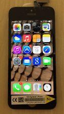 Véritable qualité de remplacement numériseur écran lcd pour iphone 5 original noir