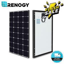 Renogy Eclipse 80W 100W Watt 12V Mono Solar Panel High Efficiency PV Power