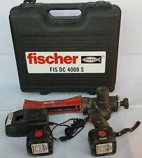 Fischer Akku-Auspresspistole FIS DC 4000 S mitte Koffer und 2 Akkus