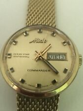 Vintage Mido Ocean Star Datoday Commander Ladies Watch