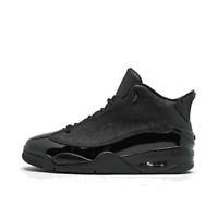 Men's Air Jordan Retro Dub Zero Off-Court Shoes Black/Black 311046 003