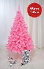 Weihnachtsbaum Christbaum Tannenbaum künstlich mit Metallständer 180cm rosa pink
