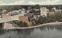Richmondville NY Denny on Shop's Roof~Main St~Rum River Bridge~Commercial Hotel