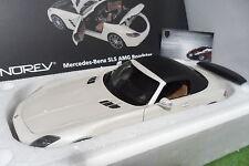 MERCEDES BENZ SLS AMG ROADSTER cabriolet 2011 1/18 NOREV 183491 voiture miniatur