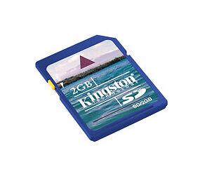 Kingston 2GB SD Card - SD/2GB