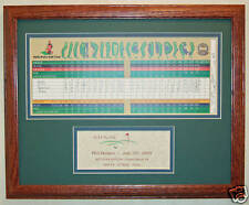 Hole In One Golf Trophy w/ scorecard