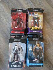 MARVEL LEGENDS Action Figure Lot, MOON KNIGHT, Daredevil, Taskmaster, ARES!!