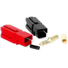 75 Amp Unassembled Red/Black Anderson Powerpole Connectors 10 Gauge, 2 Sets