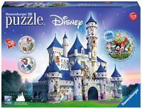 Ravensburger 12587 Colourful Disney Castle 216 Pieces Princess 3D Jigsaw Puzzle