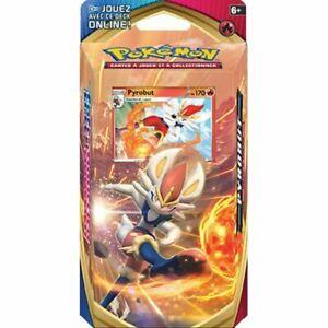 Pokemon Deck épée et bouclier Pyrobut