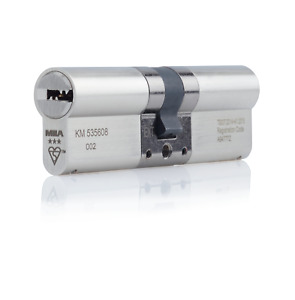 Mila ProSecure 3 Star Double Cylinder Satin Nickel - High Security