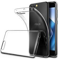 "Soft Gel Clear Transparent Case Cover For ASUS ZenFone 4 | ZenFone 4 Max 5.5"""