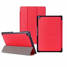 Ultra Slim Lightweight Smart Case for ASUS ZenPad 10 Z300m / Z300c Wake/sleep Red