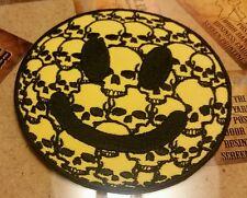 Skully Smiley Face patch