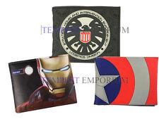 Captain America Civil War Wallet Selection New & Sealed Avengers Iron Man Shield