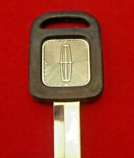 LINCOLN OEM Logo KEY BLANK fit Continental 1985-96; Town Car, Mark VII 1993-96